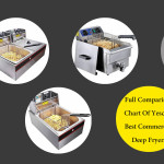 Full Comparison Chart Of Yescom Best Commercial Deep Fryers