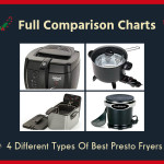Full Comparison Charts: 4 Different Types Of Best Presto Fryers