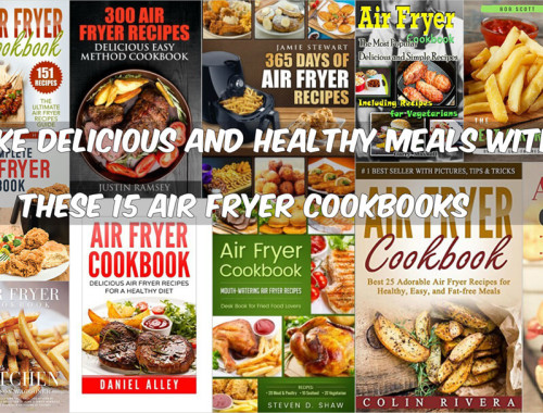 Make Delicious And Healthy Meals With These 15 Air Fryer Cookbooks