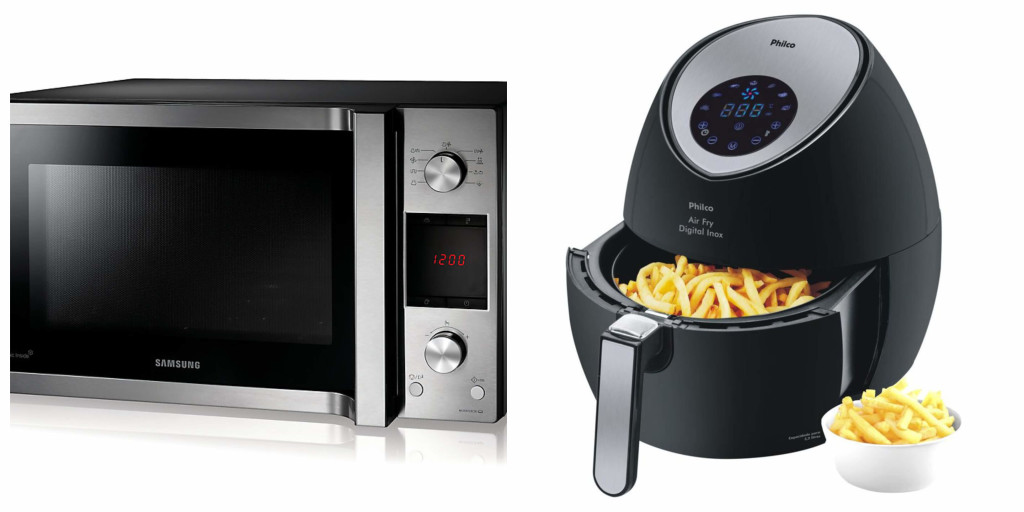 microwaves cannot compare with air fryers