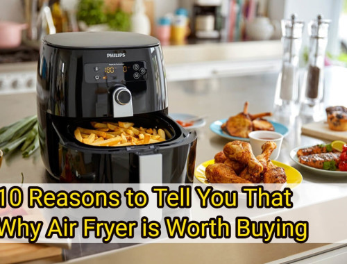 10 Reasons to Tell You That Why Air Fryer is Worth Buying